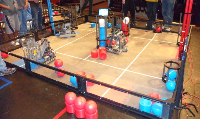 Scouting robotics competitions
